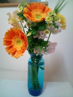 貰いものの花束
